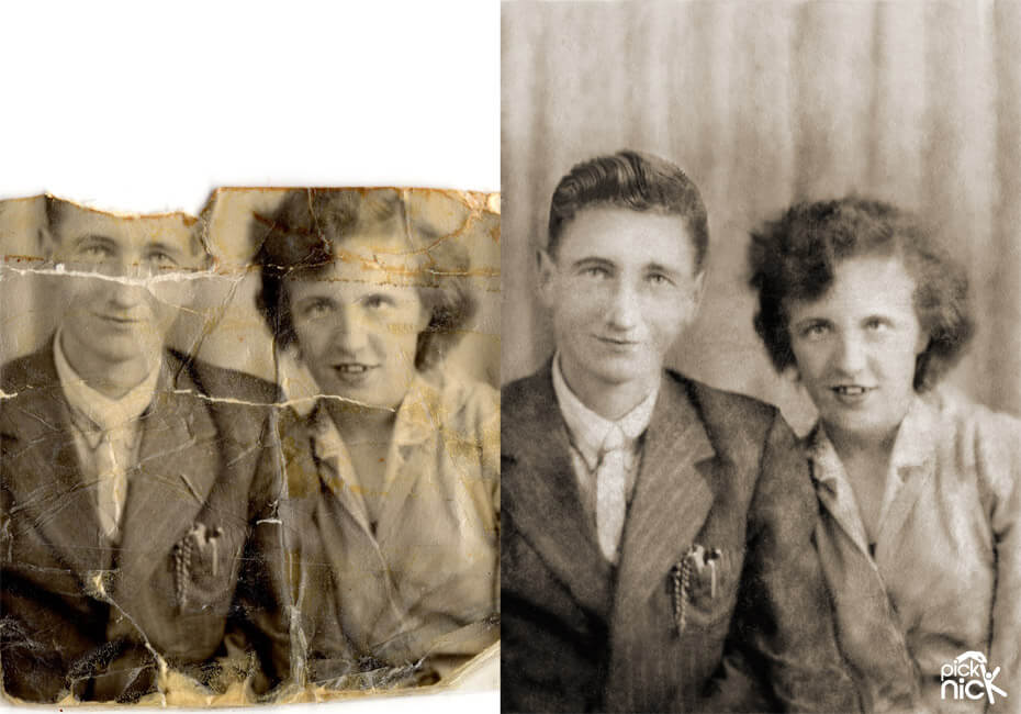 Photo Restoration Services | Restoring Old Photos | Expert